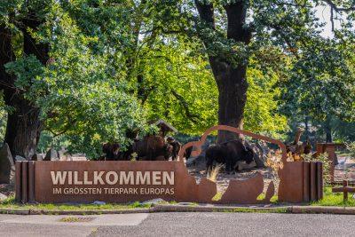Haupteingang des Tierparks Berlin