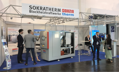 SOKRATHERM stand on E-world 2020