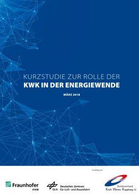 zur Kurzstudie zur Rolle der KWK in der Energiewende (80 S.)