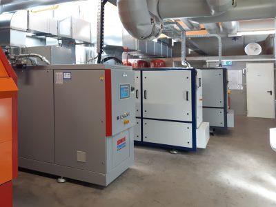 GG 50 6VRS in der KWK-Energiezentrale Schulzentrum Tiengen
